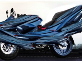 Motorbike of Satoshi Nakamoto