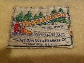 Orrlaskan 100% Wool Blanket