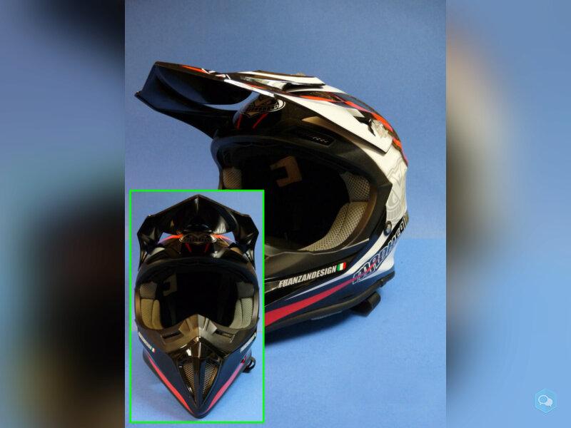 Vends Casque Cross Helmet Madhead 3