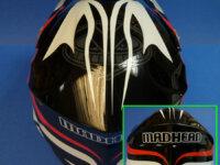 Vends Casque Cross Helmet Madhead 4
