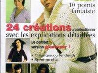 PDF Gratis Créations Femme Tricots beaux,élégants  3