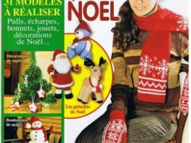 Modeles-Tricot-Noel-Décos-Pere Noel-Renne-Gnome...