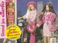 Patrons Poupées Barbie-Vêtements-Accessoires 1