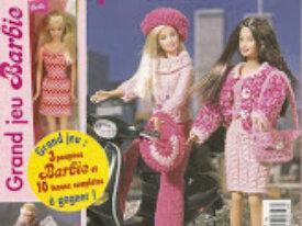 Patrons Poupées Barbie-Vêtements-Accessoires
