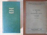Raymond Lulle + La Légende de Raymond Lulle 1