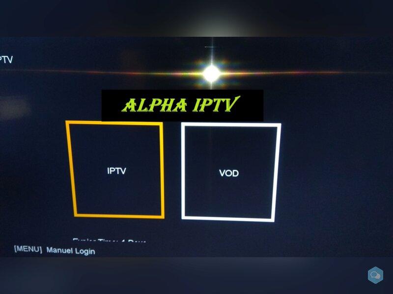 Alpha iPTV 12 MOIS 2