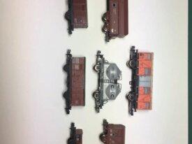 1/160 Lot de 7 wagons