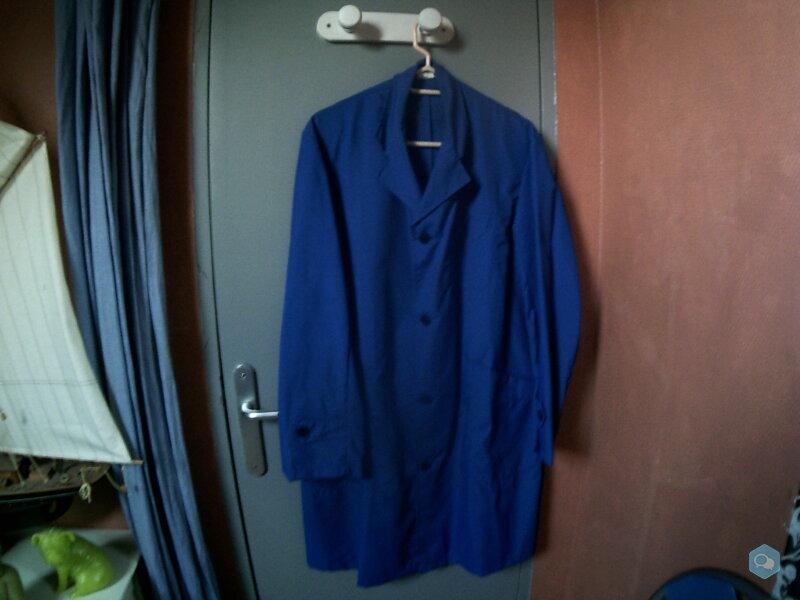 Blouse bleu Bugatti 100% nylon  1