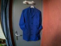 Blouse enfant bleu Bugatti 100% nylon  1
