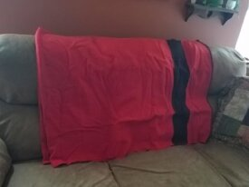 F/S - 70X90 Red Wool Camp Blanket