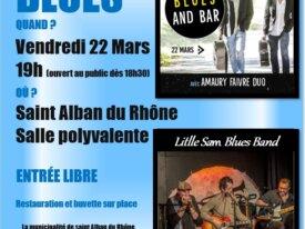 Apéro blues à St Alban du Rhone