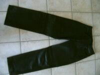 Vend pantalon cuir moto femme 1