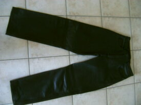 Vend pantalon cuir moto femme
