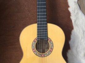 Guitare flamenco de luthier Montes Rodriguez