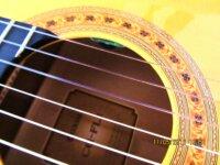 Guitare Yamaha sonorisée par luthier 4