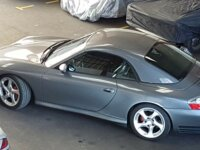 Porsche 996 Carrera 4S Cabrio hard top  3