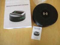 radio-réveil-chargeur portable 1