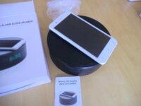 radio-réveil-chargeur portable 2