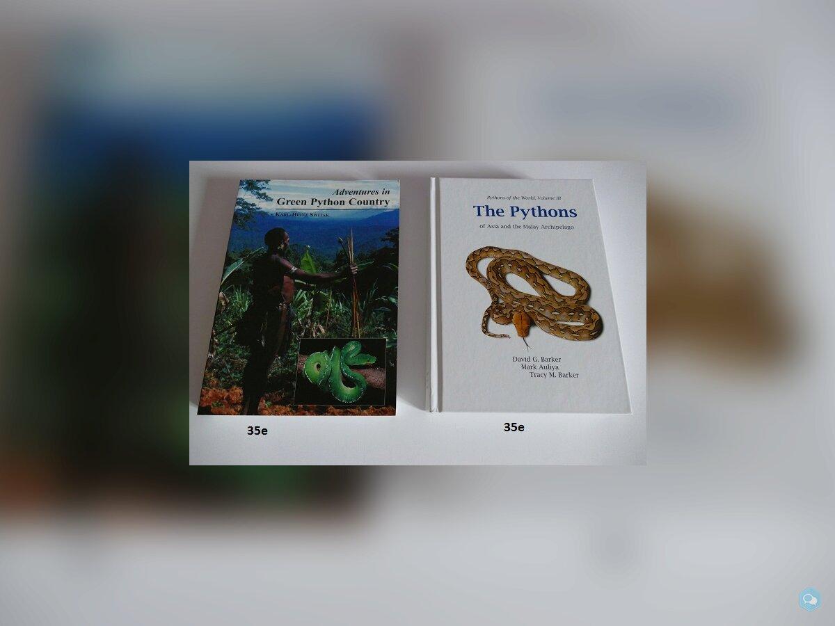 Livres reptiles 2