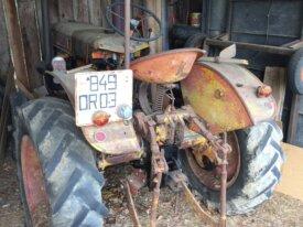 Tracteur Vendeuvre