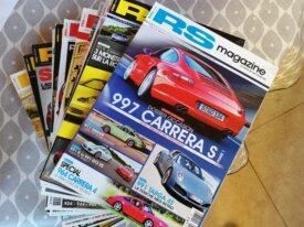 Lot de magazines RS+FLAT 6
