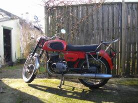 Cz 125 de  1969