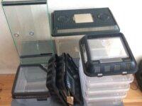 Lot Breeding box + Terrarium 20x20x40 2