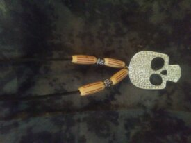 Skull and Bone pendant