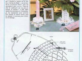 Jolies Idées Décos-crochet-Mariage-Bapteme