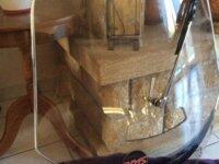 Grand pare-brise teinté Goldwing avec essuie-glace 1