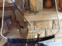 Grand pare-brise teinté Goldwing avec essuie-glace 3