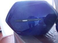Paire de valises bleu roi bon état 2