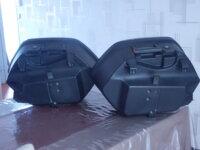 Paire de valises bleu roi bon état 3