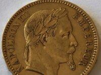 Pièce de 20 francs or Napoléon III de 1863 2