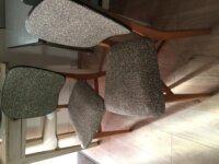 lot 2 chaises vintage 1960  2