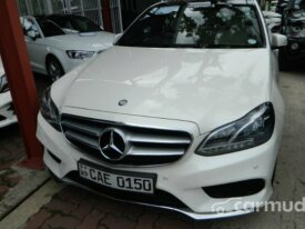 Mercedes-Benz E220 AMG Line 2014