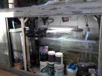 Aquarium eau de mer 600 l équipé en service 4