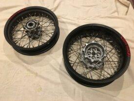 2013 Spoked wheels