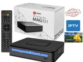 MAG 351 4K + ABONNEMENT IPTV 12 MOIS FULL HD