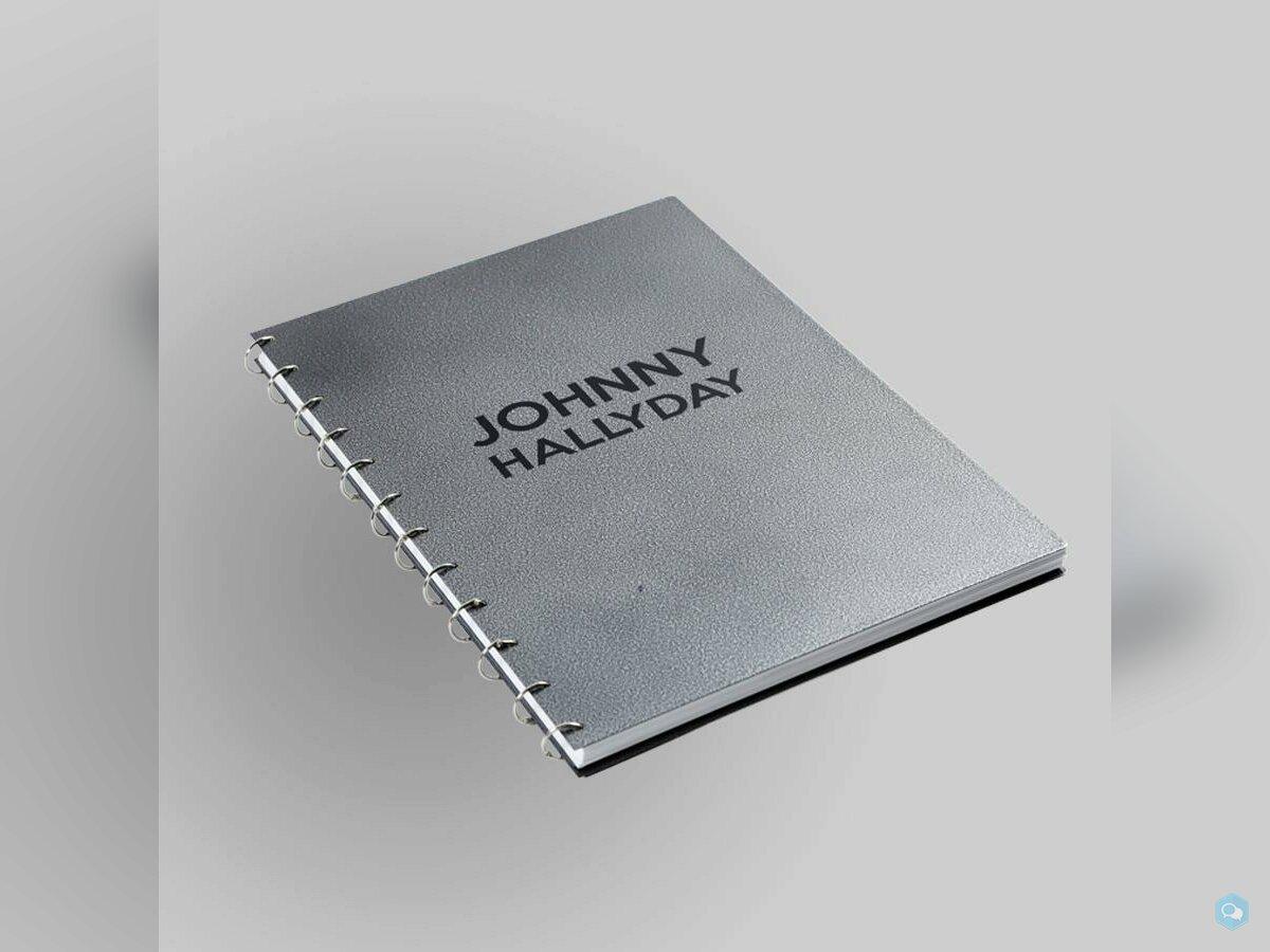 Livre Collector rare exceptionnel Johnny Hallyday 2