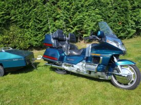 Goldwing 1500 SE + remorque
