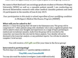 $25 Focus Group Study for Patients (Kalamazoo)