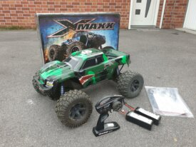 X-maxx 6S carro perso + Lipo 8600mah x2