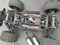 X-maxx 6S carro perso + Lipo 8600mah x2 2