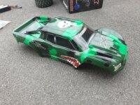 X-maxx 6S carro perso + Lipo 8600mah x2 4