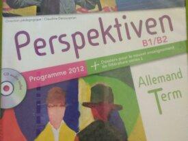 Livre d'Allemand Perspektiven B1/B2. Term