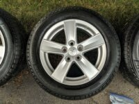 """4 pneus Michelin 16"""" + Jantes 16x6.5 - 5x114. 2"""
