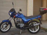 Jawa 350 640 Syle bleu 1