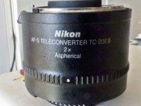 Nikon AF-S téléconverter TC-20EIII 1