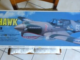 Maquette à monter Avion P-40E Warhawk TF Top Flite